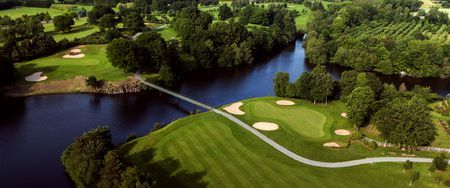 Overview of golf course named Saint Malo Golf Resort