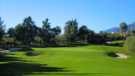 Overview of golf course named Santa Clara Golf Marbella