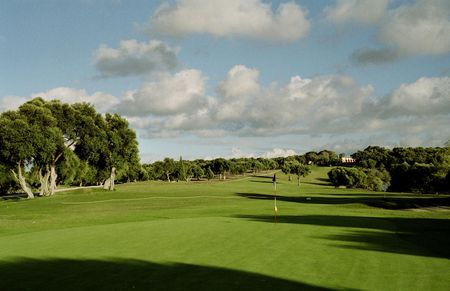 Overview of golf course named Montenmedio Golf and Country Club