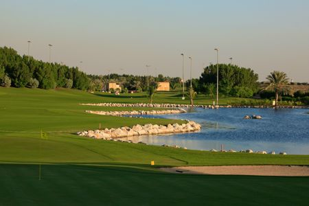 Overview of golf course named Sharjah Golf and Shooting Club