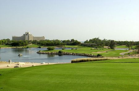 Overview of golf course named Jebel Ali Golf Resort and Spa