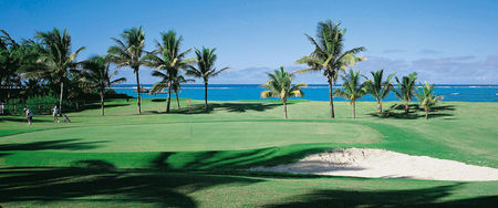 Overview of golf course named One and Only Saint-Geran Golfclub