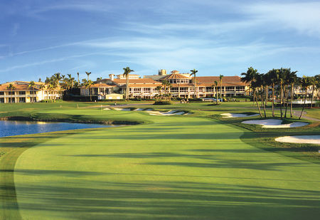 Overview of golf course named Trump National Doral Miami - The Blue Monster