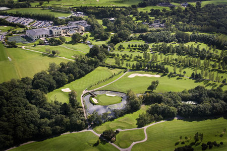Overview of golf course named Vale Golf and Spa Resort