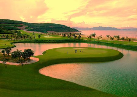 Overview of golf course named Vinpearl Golf Nha Trang