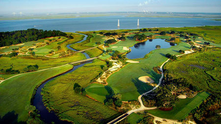 Overview of golf course named Seaside Course at Sea Island Golf Club