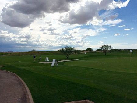 Overview of golf course named TPC Scottsdale