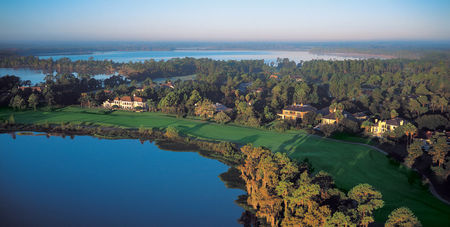 Overview of golf course named Lake Nona Golf and Country Club