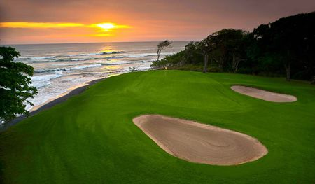 Overview of golf course named Hacienda Pinilla Beach Resort and Residential Community