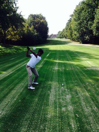 Avatar of golfer named Victor Bouvier