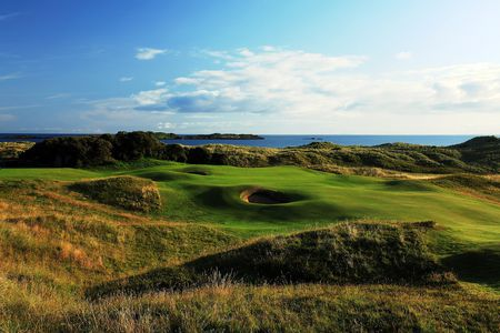 Overview of golf course named Royal Portrush Golf Club - Dunluce Course