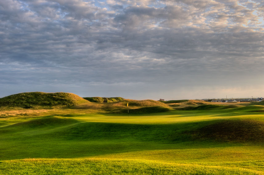 Ballybunion golf club cover picture