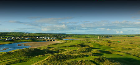 Overview of golf course named Lahinch Golf Club