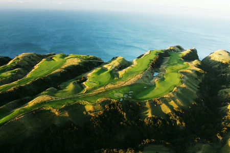 Overview of golf course named Cape Kidnappers Golf Course