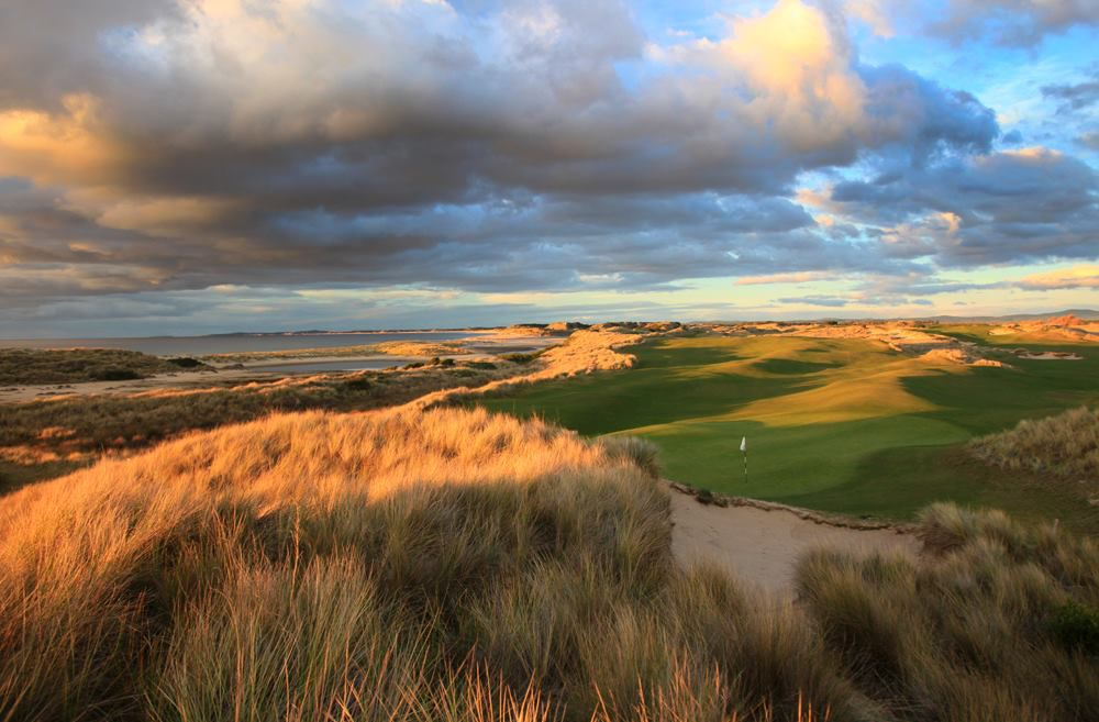 Barnbougle golf club cover picture