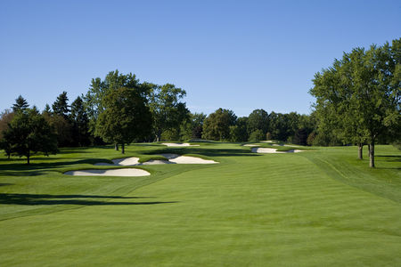 Overview of golf course named Oakland Hills Country Club