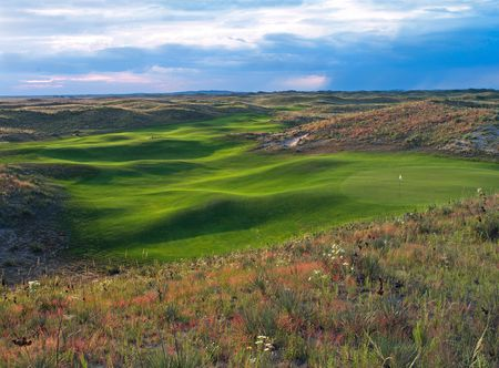 Overview of golf course named Ballyneal Golf and Hunt Club
