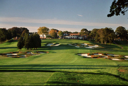 Overview of golf course named Red Course at Bethpage State Park Golf