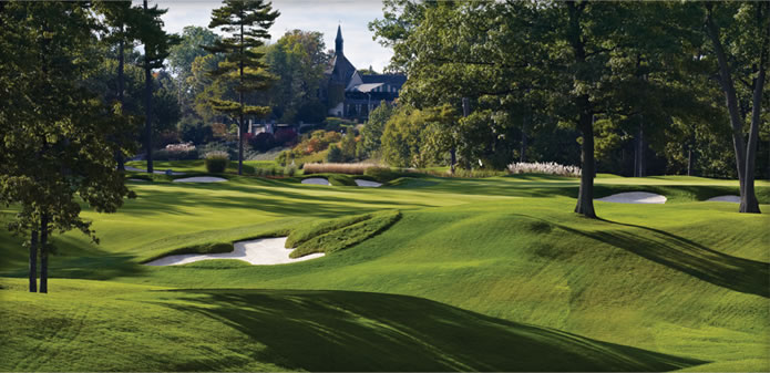 Overview of golf course named Saint George's Golf and Country Club