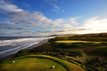 Overview of golf course named Cabot Links