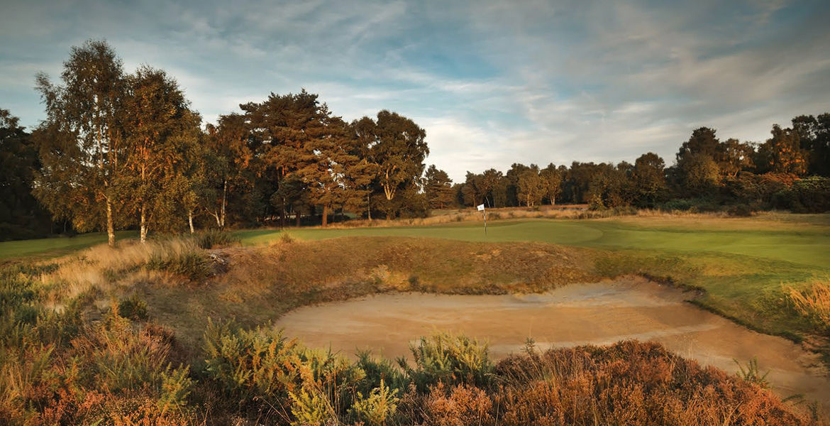 Woodhall spa golf club cover picture
