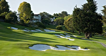 Overview of golf course named Pasatiempo Golf Club
