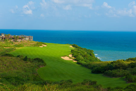 Overview of golf course named Shanqin Bay Golf Club