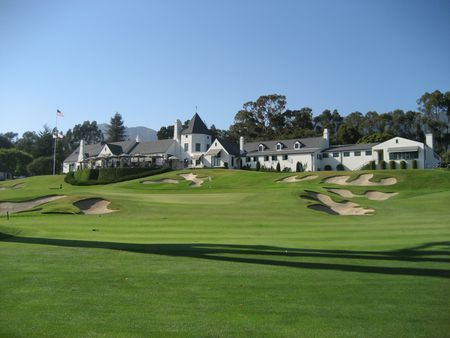 Overview of golf course named Valley Club of Montecito