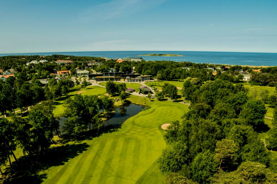 Overview of golf course named Halmstad Golfklubb Tylosand