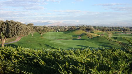 Overview of golf course named The Real Sociedad Hipica Espanola Club de Campo