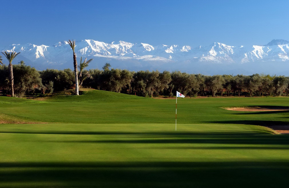 Overview of golf course named Royal Marrakech Golf Club