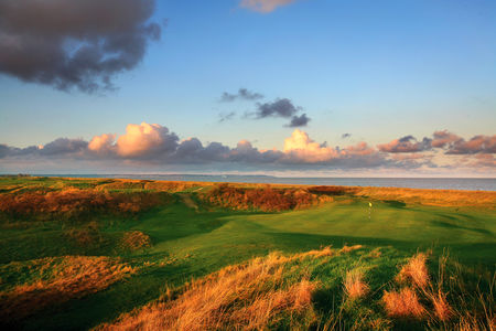 Overview of golf course named Royal Cinque Ports Golf Club