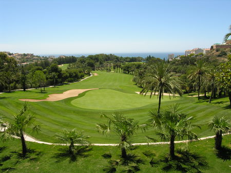 Overview of golf course named Golf Torrequebrada