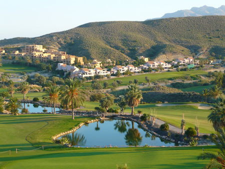 Overview of golf course named Valle Del Este Golf Resort