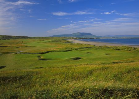 Overview of golf course named County Sligo Golf Club