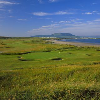 County sligo golf club cover picture