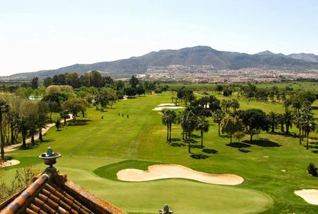 Overview of golf course named Guadalhorce Golf Club