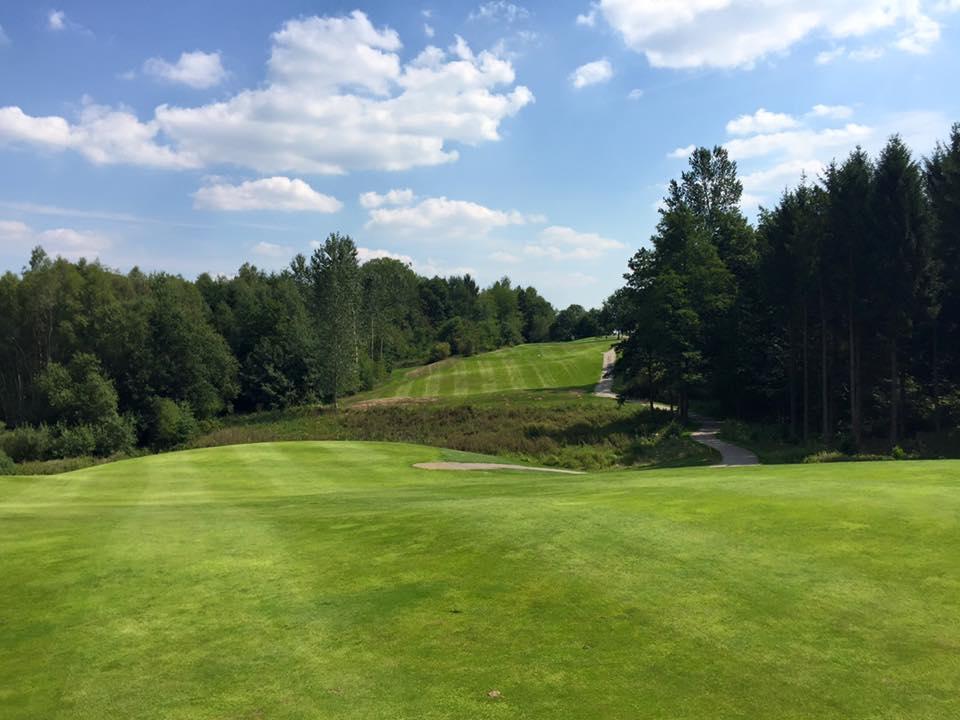 Overview of golf course named Wendelinus Golf Park