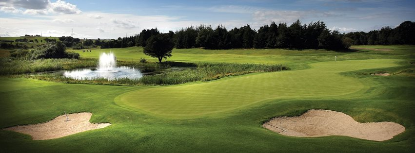 Overview of golf course named Himmerland Golf and Spa Resort