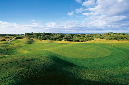 Overview of golf course named Barwon Heads Golf Club