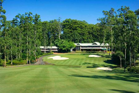 Overview of golf course named Bonville Golf Resort