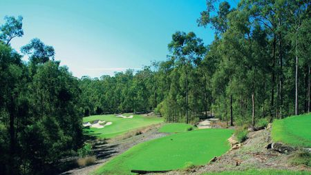 Overview of golf course named Brookwater Golf and Country Club