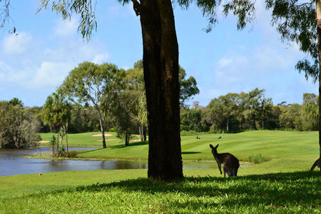 Overview of golf course named Capricorn Resort Yeppoon