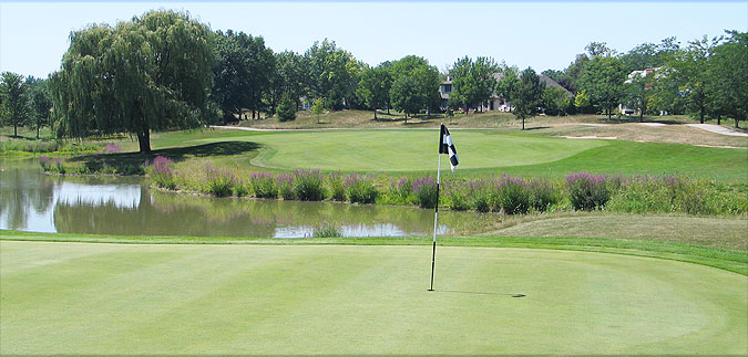 Overview of golf course named The Arboretum Club