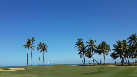 Overview of golf course named Denarau Golf & Racquet Club