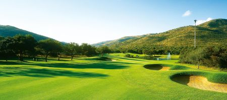 Overview of golf course named Gary Player Country Club