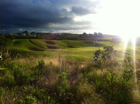 Overview of golf course named Pezula Championship Golf Course