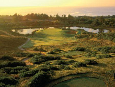 Overview of golf course named Zimbali Country Club