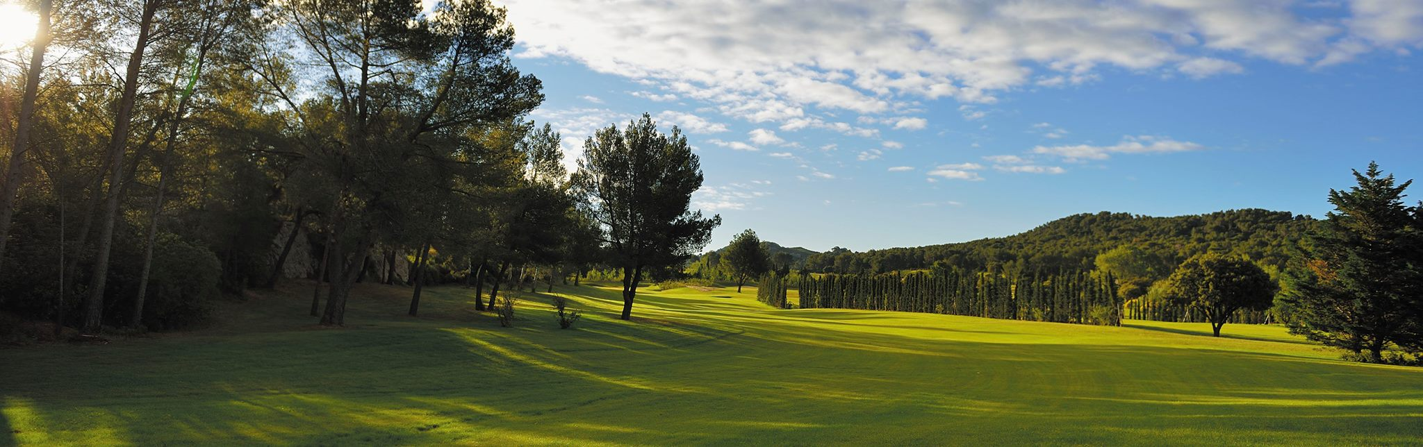 Overview of golf course named Domaine de Manville