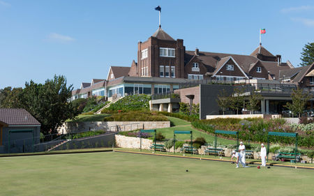 Overview of golf course named The Royal Sydney Golf Club